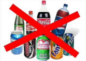 Não tomar refrigerante