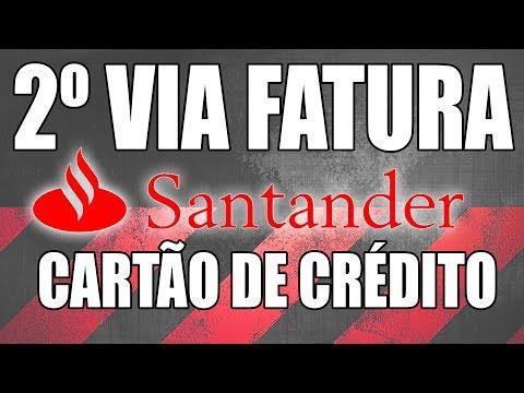Como pedir a segunda via do cartão de crédito Santander