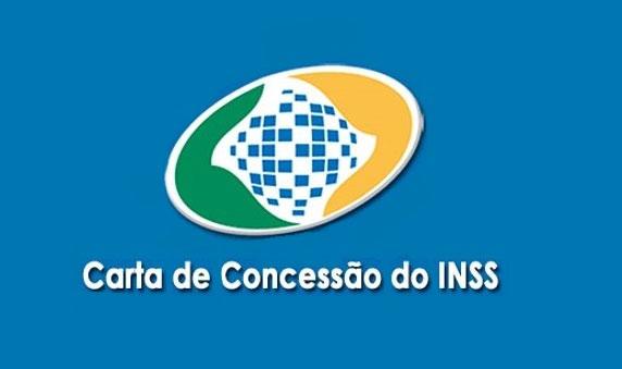 Carta de concessão do INSS