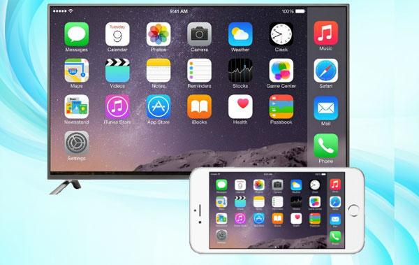 Espelhar celular na TV LG com iPhone