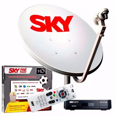 Sky TV pré-pago como funciona